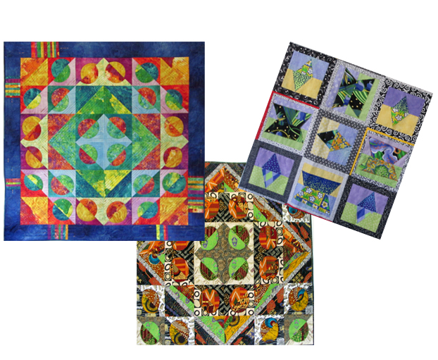Split Quilts – imaginative designs with geometric shapes (1 – 2 days)