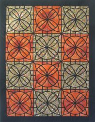Simple Stained Glass QuiltsBook ProjectsMosaic Tile