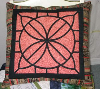 "Mosaic Tile Pillow - 16"" x 16"""