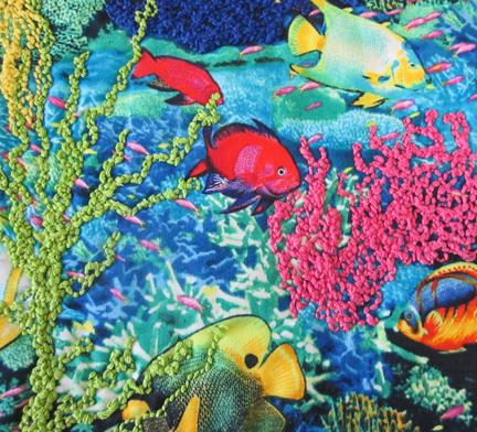 Bobbin-fish-seaweed