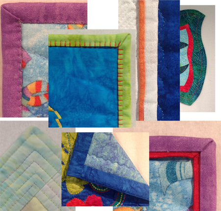Fine Finishes – 6 Ways to Bind Your Quilts (1 day)